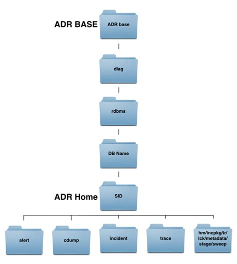 repository pattern file system oracle adrci automatic diagnostic repository command