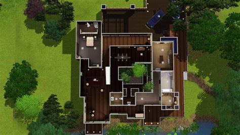 When A Stranger Calls House by Mod The Sims Quot Mandrakis Residence Quot When A Stranger Calls