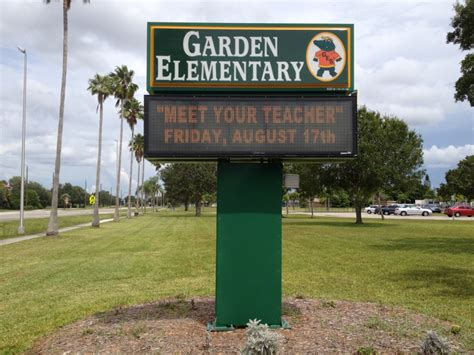 Garden Elementary by Are You Ready Sarasota County Schools In Fl Start On