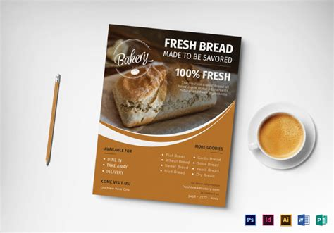 bake sale flyer template 31 free psd indesign ai
