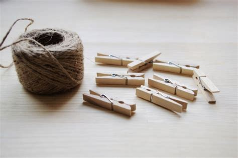 Tali Rami Dan Wooden Clip wooden clip panmomo belanja barang unik dan lucu