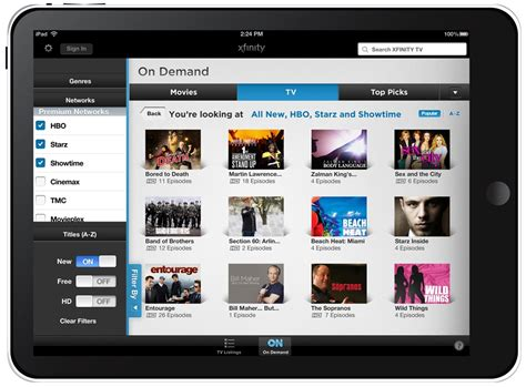 tv comcast comcast xfinity tv go for ios and android to offer live tv