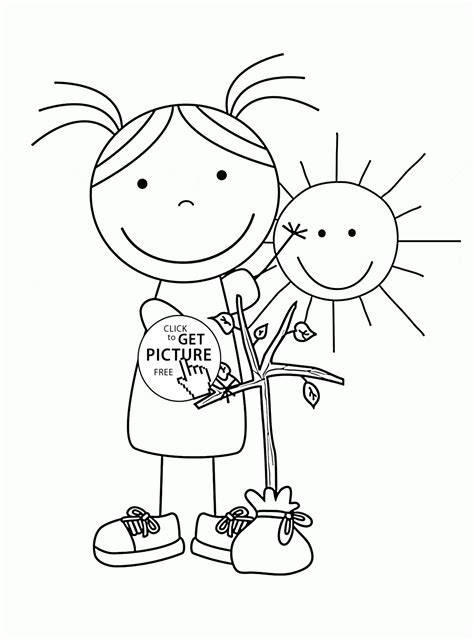 sunny weather coloring page sunny day colouring pictures for kids www pixshark com
