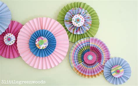 Paper Pinwheels - paper pinwheels wall on a budget 3 greenwoods