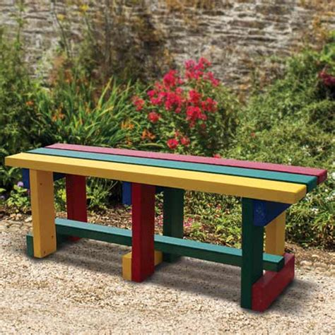 bench site design backless bench recycledfurniture