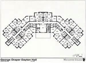 College Floor Plans by George Draper Dayton Hall Gdd Residential Life