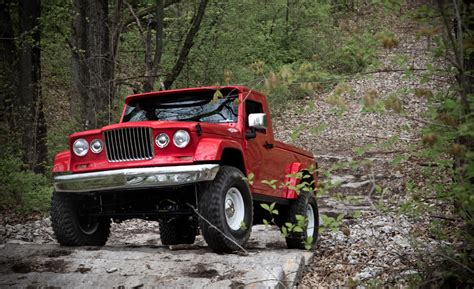 new jeep truck concept report jeep could actually build wrangler based pickup