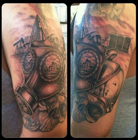 big rig tattoo designs oilfield tattoos www pixshark images galleries
