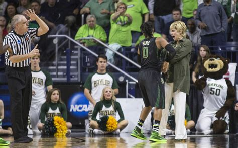 notre dame bench notre dame bench comes up big in win over baylor college
