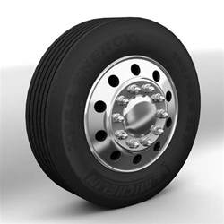 Truck Wheels Tires 3d Wheels American Trucks Model