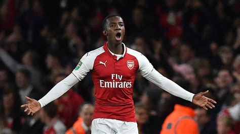 arsenal nketiah who is eddie nketiah arsenal s carabao cup scoring