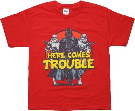 Wars T Shirt by Wars Here Comes Trouble Youth T Shirt