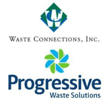 waste connections and progressive waste solutions agree to merger
