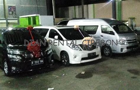 Harga Sewa Fendi Wedding Car harga dan tarif sewa mobil di cirebon dian rental