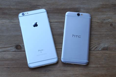 htc one a9 vs iphone 6s plus pocketnow