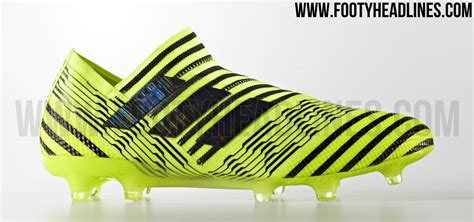 solar yellow black adidas nemeziz 17 360agility boots released footy headlines