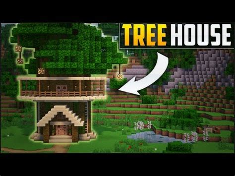 tutorial zombie house minecraft how to build a tree house tutorial easy