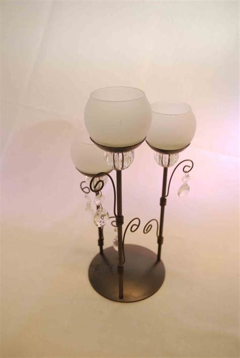 Tiered Glass Candle Holders Destination Events Tiered Candle Holder