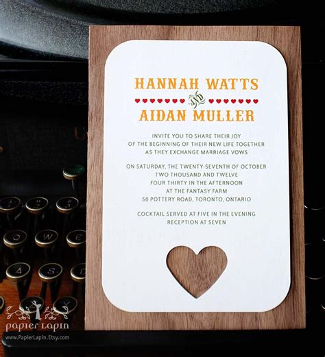 wedding invitations with woods themes wood wedding invitation themed outdoorsy weddings