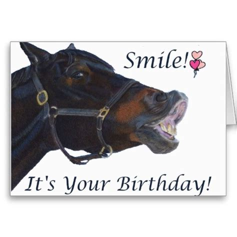 printable birthday cards horses free 1000 images about carte on pinterest happy birthday