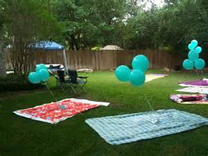 outside birthday ideas search outdoor