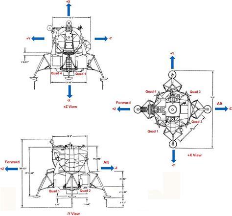 lunar module diagram lunar module assembly photos