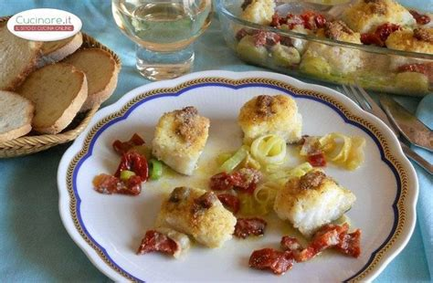 cucinare baccala baccal 224 piccante al forno cucinare it