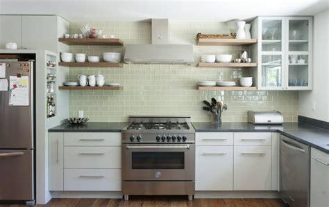 kitchen cabinets open shelving 10 classic kitchen backsplash ideas