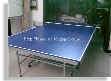 Meja Ping Pong Hurricane c k ina punya meja ping pong baru