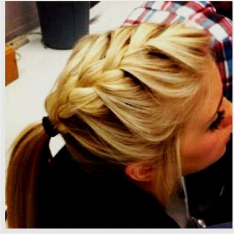 hairstyles for basketball games big braids basketball games and softball hair on pinterest