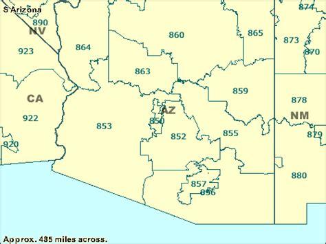 az zip code map trucksess zcta maps 800 899