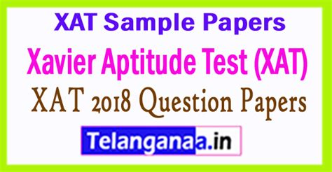 Ssn Mba Questions by Xat 2018 Question Papers Pdf All India Govt