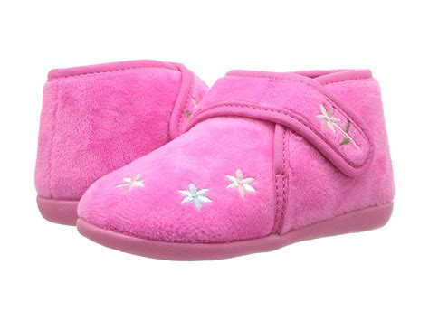 foamtreads toddler slippers foamtreads flora toddler kid fuchsia