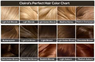 ash hair color chart light brown hair color chart