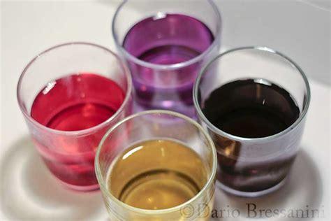 antocianine alimenti di cibi acidi alcalini e meringhe colorate scienza in