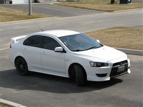mitsubishi white mitsubishi lancer price modifications pictures moibibiki