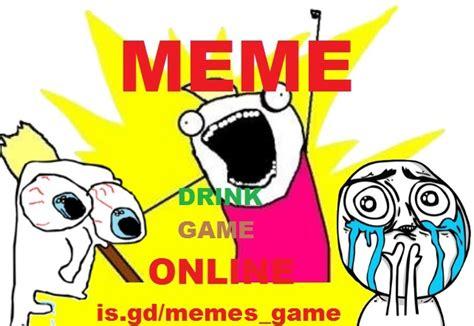 Meme Drinking Game - memes drinking game table