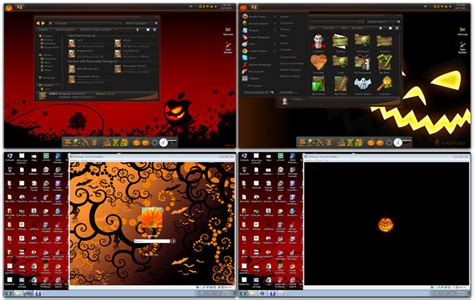 win 7 halloween themes top 10 windows 7 themes visual styles stylish