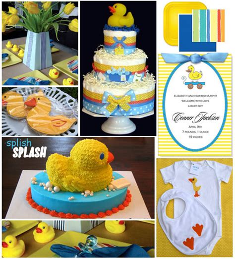 duck themed baby shower decorations rubber ducky baby shower ideas for the duckling in your