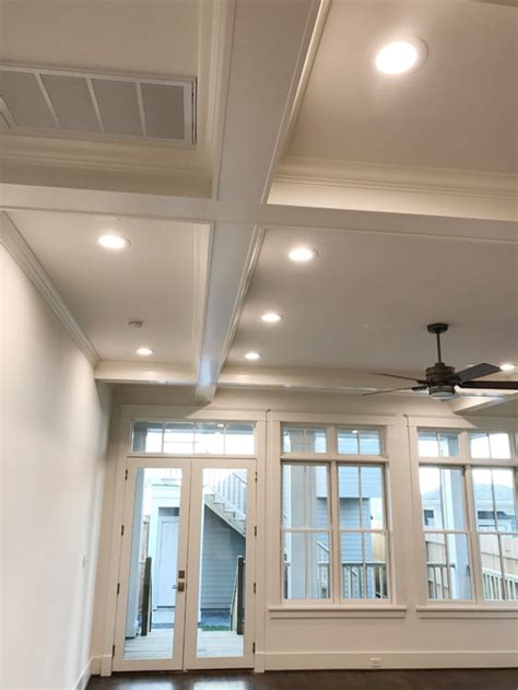 craftsman moldings box beam ceiling windsorone