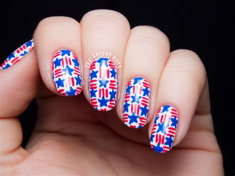 pedicure colors to the stars 30 american flag inspired stripes and stars nail ideas
