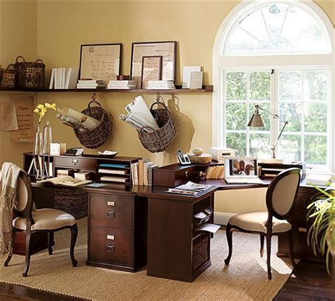 comfortbale nuance for luxury home office decor with brown home office decorating ideas for comfortable workplace