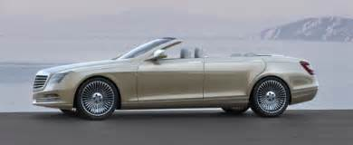 4 Door Convertible Mercedes Mercedes To Build Four Door Convertible By 2011