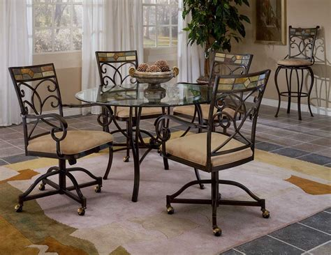 Hillsdale Dining Chairs Hillsdale Pompei Caster Dining Chair 4442 806 Hillsdalefurnituremart