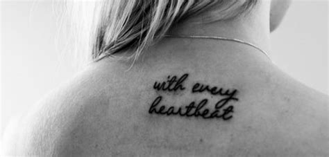 tattoo with every heartbeat meaning 23 cool heartbeat tattoo images and designs