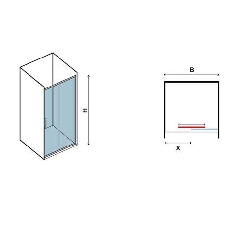 box doccia un lato box doccia un lato 120cm con anta scorrevole guarda