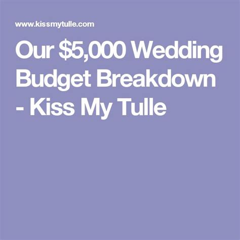 Wedding Budget 1000 by 1000 Ideas About Wedding Budget Breakdown On
