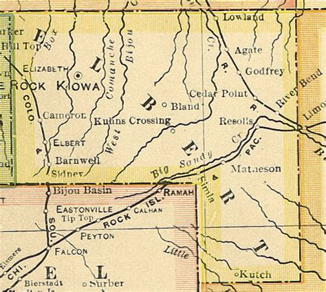 County Colorado Records Elbert County Colorado Genealogy Census Vital Records