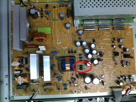 belajar tv lcdled koleksi kerusakan tv plasma samsung