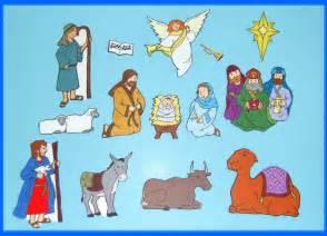 Birth of jesus nativity felt flannel board set christmas